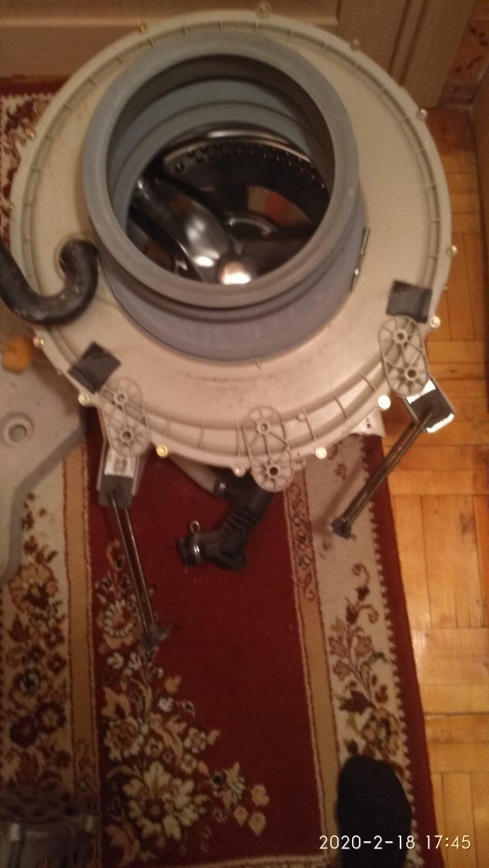 Замена барабана в стиральной машине
